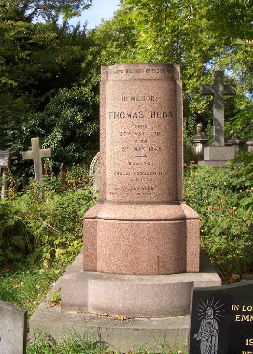 Memorial Thomas Hood
